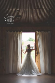 Bride and Barn Doors