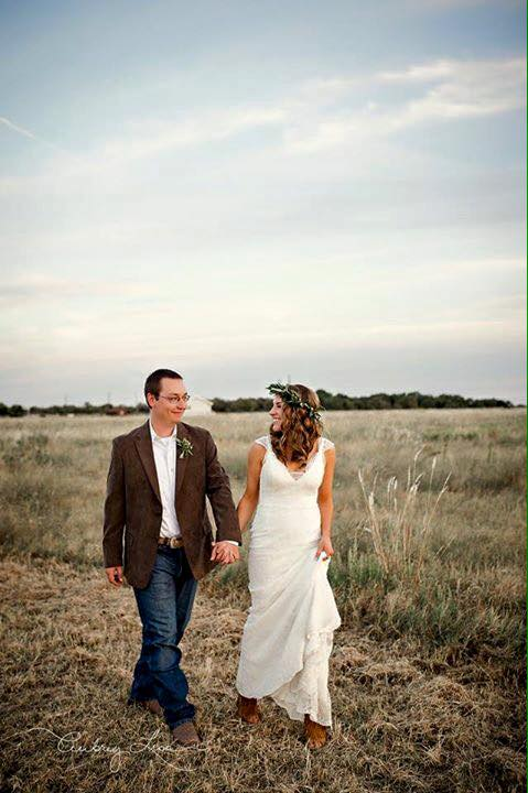Photo opps at Milagro Farms are endless. Love this walk on Texas land.