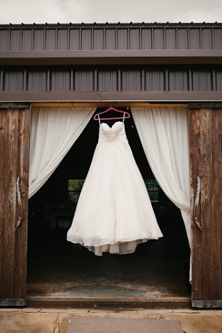 Dress at barn